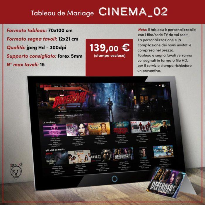 Tableau Cinema 2